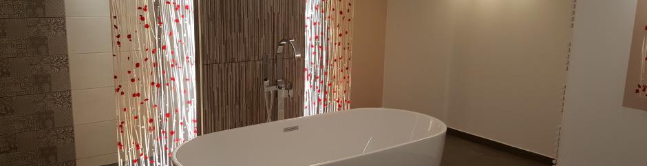 réalisation, rénovation de salle de bain,cles en main, lyon, saint ...